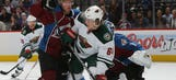 Colorado's speed, transition game too much for Wild in Game 2