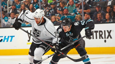 First round, Game 5: Kings 3, Sharks 0