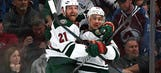 Nino joins Brunette in Wild history, sends Minnesota to second round