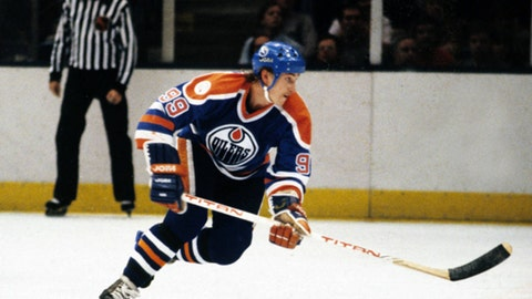 Wayne Gretzky's 215 points in a season