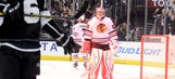 Corey Crawford investigated for allegedly spraying Kings fan with water