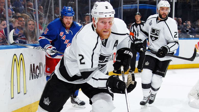 Kings buy out contract of veteran defenseman Matt Greene