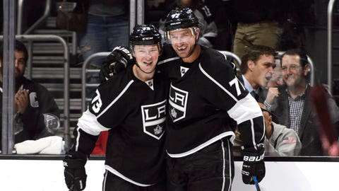 Ducks winning with veterans, Kings flexing scoring muscle with young guns