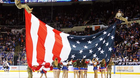 Old Glory in good hands