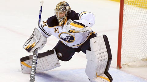 Sabres send Michal Neuvirth to Islanders for Chad Johnson and 2015 third-round pick