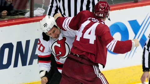 Crombeen vs. Tootoo