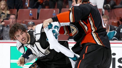 Ducks vs. Sharks, Round 4 — Sheppard and Getzlaf