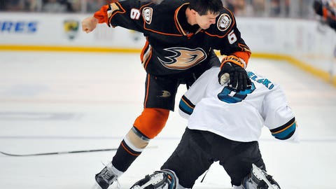 Ducks vs. Sharks, Round 2 — Pavelski vs. Lovejoy