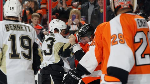 Schenn vs. Downie