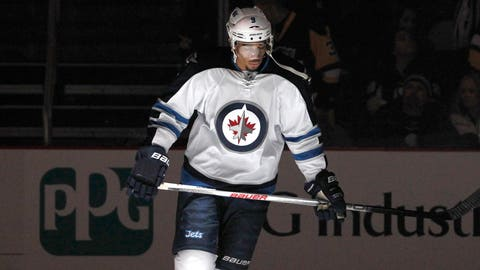 What happened in Winnipeg with Evander Kane?