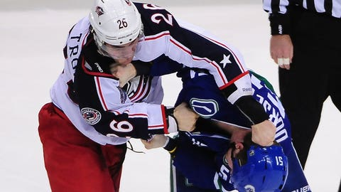 Dorsett vs. Blue Jackets