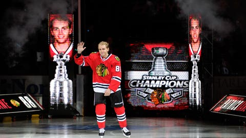 Playoff star takes the ice
