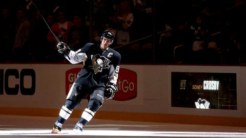 Crosby ends career-worst point drought in style