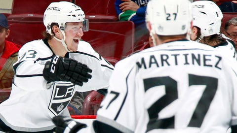 King of his court: Toffoli's hat trick fuels Los Angeles