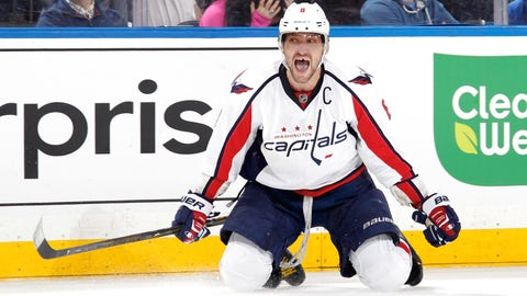 'Great 8' Ovechkin sizzles with OT winner in 800th career game