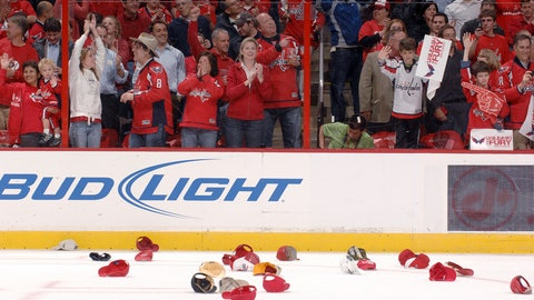 Tip of the cap for Ovechkin's hat tricks