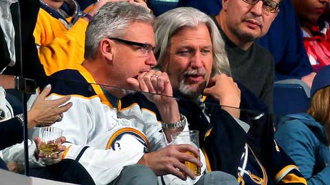 Buffalo pride: Ryan brothers take in Sabres game