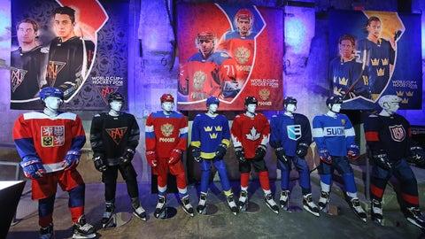 The jerseys