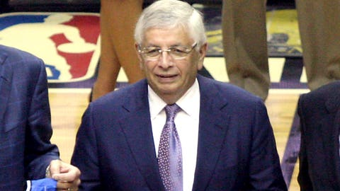 January runner-up: Jan. 31 – David Stern works his last full day as NBA commissioner