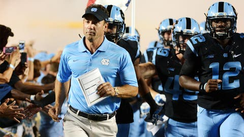 North Carolina Tar Heels: 7.5 wins (2014 record: 6-7)