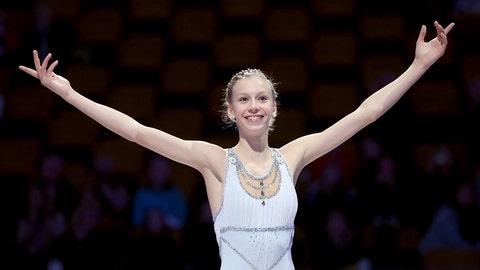 Whirling Wunderkind: Polina Edmunds