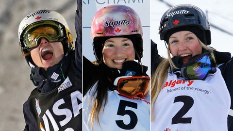 Maxime, Chloe and Justine Dufour-Lapointe