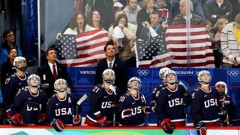 US Women's Hockey Team