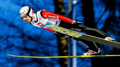 Simon Ammann (Switzerland) — Ski Jumping