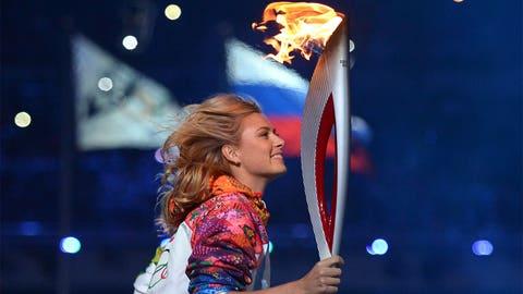 Sharapova on fire