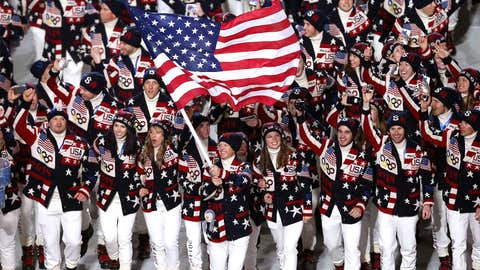 Team USA in the house