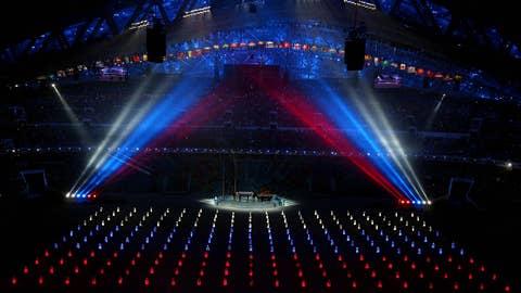 Spotlights on the festivites