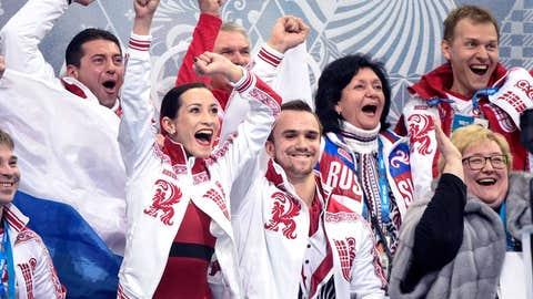 Russian figure skating team