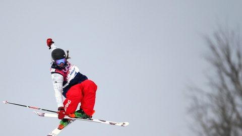Logan's slopestyle leap