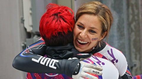 A hug between teammates