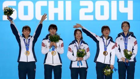 Korean short-track team