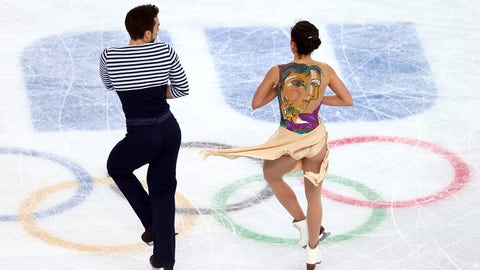 Creating art on ice