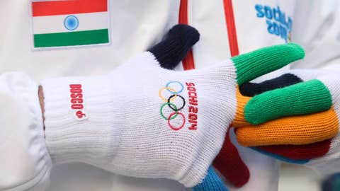 India gets a flag at the Olympics