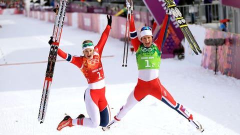 Norwegian women's cross-country sprint team
