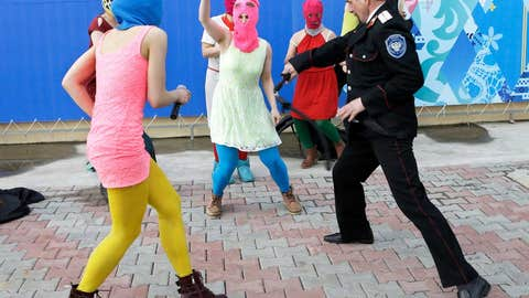 A Riot on the streets of Sochi