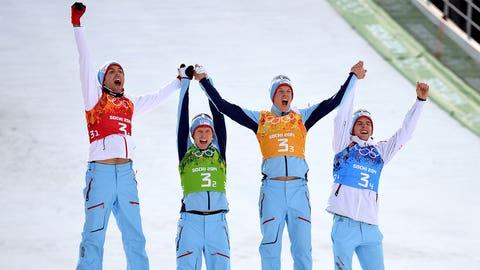 Norwegian Nordic combined team