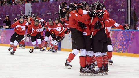 Canada comes from behind to win the gold
