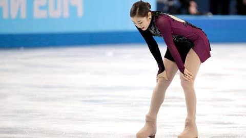 Kim's silver medal finish