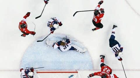 An epic ice battle