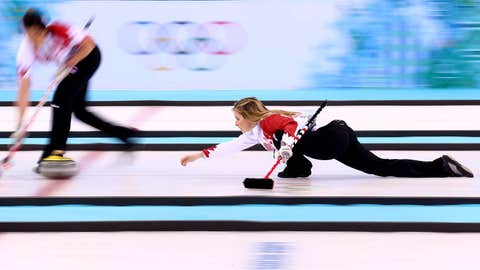 Canada curls for gold