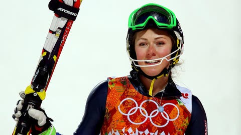 A skiing phenom delivers on her golden promise