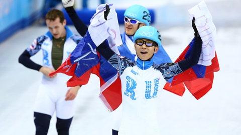 Russian men's short track 5000m relay team