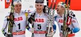 Teodor Peterson, Marit Bjoergen win cross-country sprints at worlds