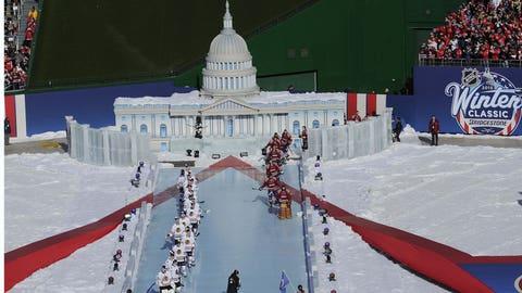 White House on ice