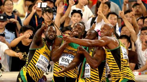 Athletes Taking Selfies