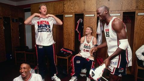 """1. Air Jordan 7 """"Olympics"""" (1992)"""